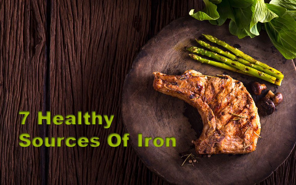 Steak dinner healthy source of iron